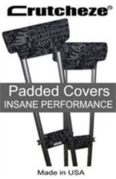how to make crutches more comfortable on hands 1000 images about crutch accessories on pinterest