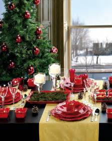 How To Decorate Christmas Tree At Home 18 christmas dinner table decoration ideas freshome com