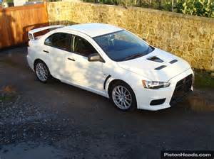 2008 Mitsubishi Lancer Evolution Gsr For Sale Used Mitsubishi Evo X Cars For Sale With Pistonheads