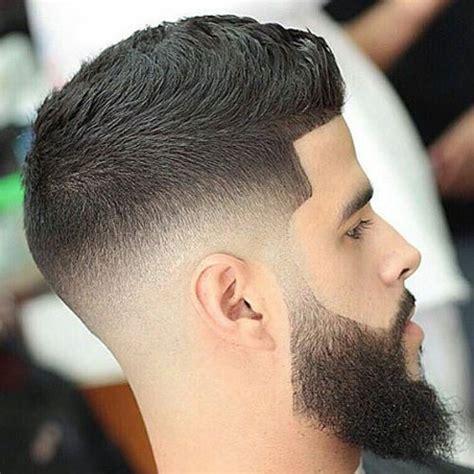 hair cut with a fade mid fade haircut men s hairstyles haircuts 2017