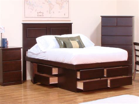 platform bed headboard storage storage platform bed design ideas modern storage twin