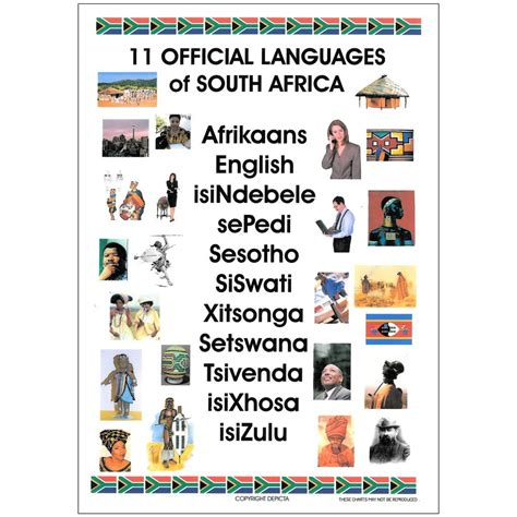 Buy Wall Stickers Online national languages of south africa depicta