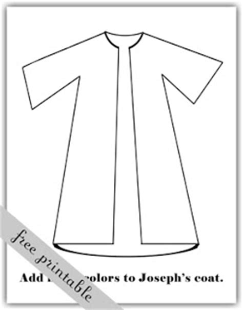printable coloring pages joseph coat a year of fhe 2011 week 21 joseph s coat of many colors