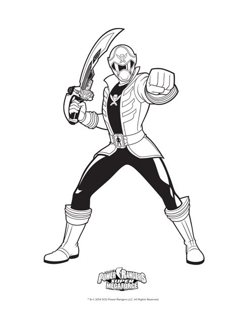 power rangers pirates coloring pages 8 dessins de coloriage power rangers super megaforce 224