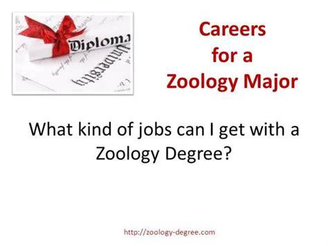 zoology degree careers authorstream