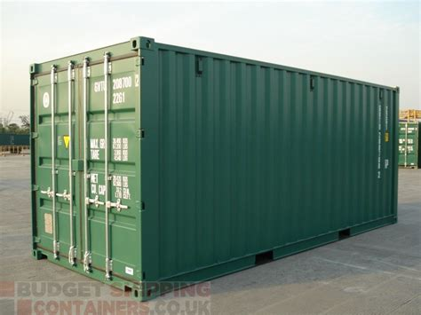 shipping container storage 20ft shipping containers high spec new one trip