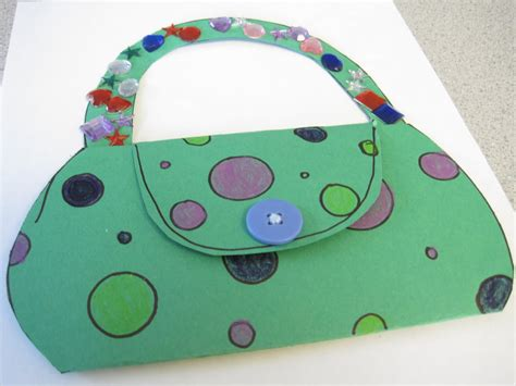 S Day Purse Card Template by Preschool Crafts For S Day Purse Card Craft
