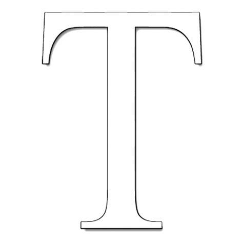 lettere alfabeto da disegnare disegno di lettera t da colorare per bambini