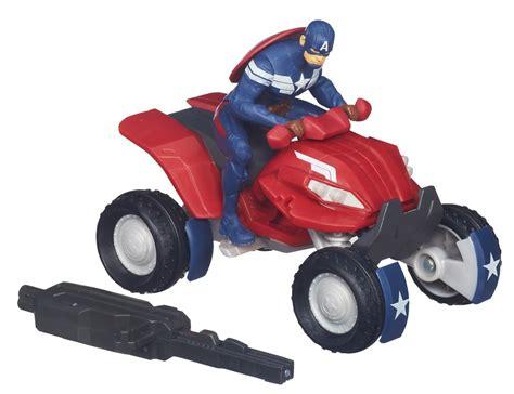 Hasbro Captain America With Blast Cycle Kapten Amerika 1 fair 2014 hasbro captain america official images