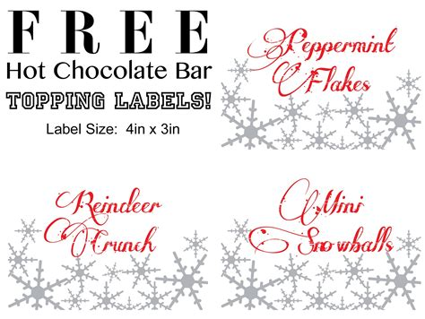 free printable reindeer hot chocolate simply events llc december 2012