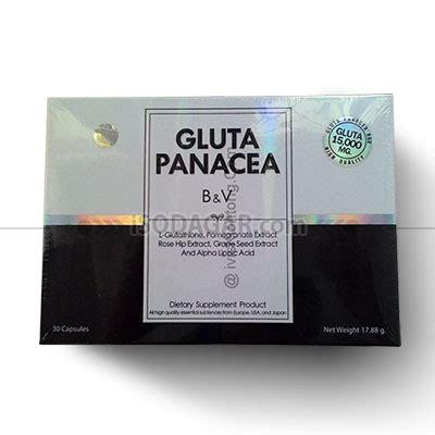 Pemutih Gluta Panacea gluta panacea suplemen pemutih kulit isodagar