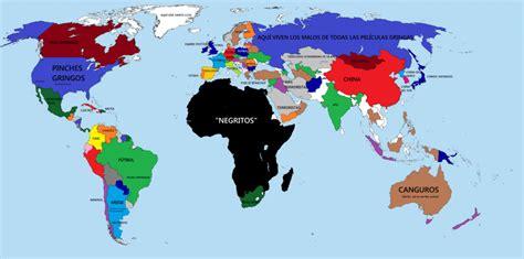 imagenes extrañas en el mundo el mundo y sus pa 237 ses vistos desde los mapas de