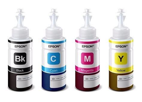 Tinta Cartridge Epson Cyan Ink T6642 botella de tinta original epson t6641 t6642 t6643 t6644 pack 4 colores oem daemo insumos