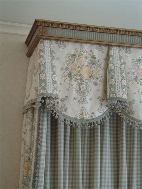 fabric trim for curtains beautiful cornice fabrics and trim pinterest home decor