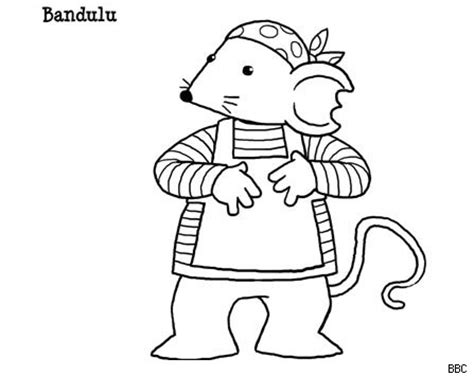 Coloring Pages Rastamouse | rastamouse colouring pages picture to pin on pinterest