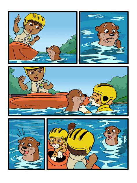 and the colored go go diego go colored page 2 by kevinbolk on deviantart