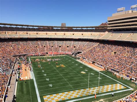 neyland stadium visitors section neyland stadium section nn rateyourseats com