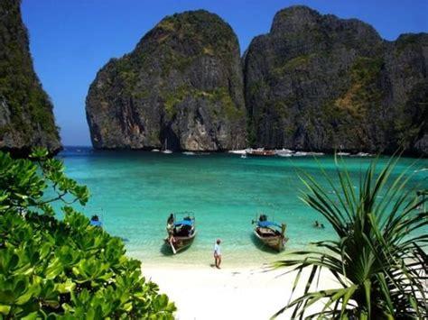 film semi beach quot the beach quot movie beach picture of ko phi phi le ko phi