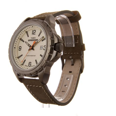 Rugged Outdoor Watches Rugged Outdoor Watches Timex Expedition Rugged Field S Partial Arabic Leather Band Outdoor