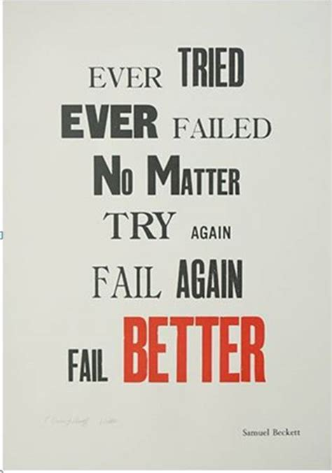 fail better all of nothing else tried