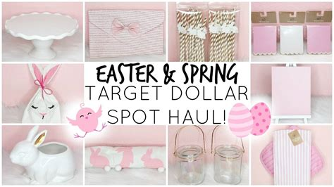 target dollar spot spring 2017 target dollar spot haul easter spring 2017 youtube