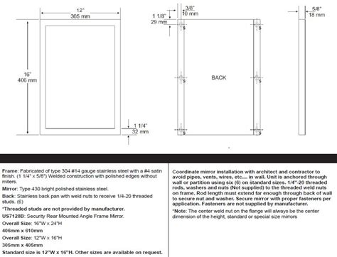 standard mirror sizes for bathrooms standard bathroom mirror dimensions 28 images standard