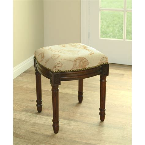 Lash Bed And Stool by Furniture Wonderful Vanity Stool With Wheels For Alluring