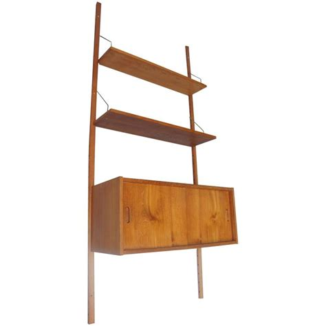 poul cadovius royal cado teak wooden wall shelves system