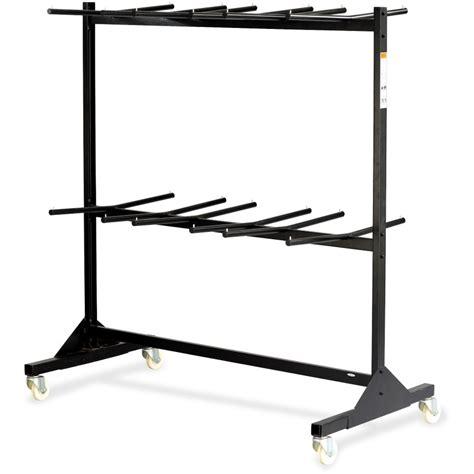 folding chair rack wheels safco tier chair cart