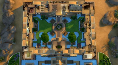 Floor Plan Online Free download golden fantasy castle sims online