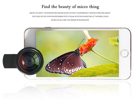 Universal Cl For Smartphone With 025 Inch Small B 2010 lieqi lq 025 2 in 1 lens kit 0 6x wide angle 15x macro