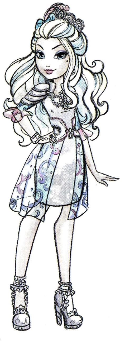 ever after high darling charming coloring pages 17 best images about ever after high illustrations on
