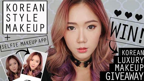 download vidio tutorial make up korea korean style makeup tutorial k beauty makeup giveaway