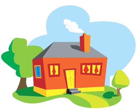 home cartoon images clipartsco