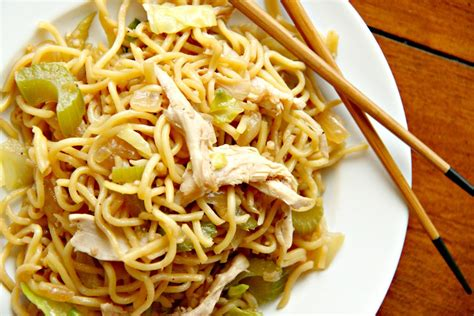 larissa another day take out style chicken lo mein