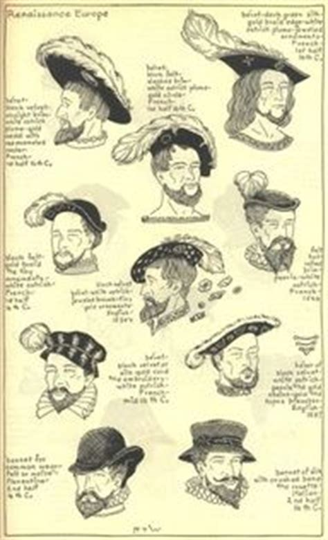 mens hairstyles names 1800s 1000 images about 16th century men s wear costume