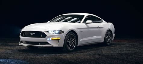 2018 Mustang Side View by 2018 Ford Mustang Oxford White Front Side View O Kovatch