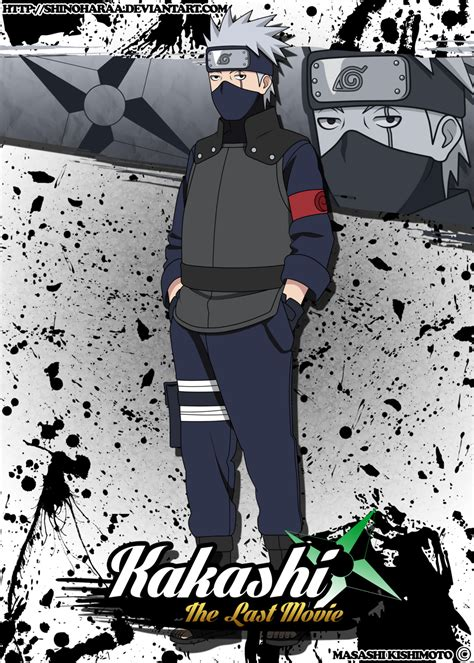 film naruto kakashi kakashi hatake by shinoharaa on deviantart