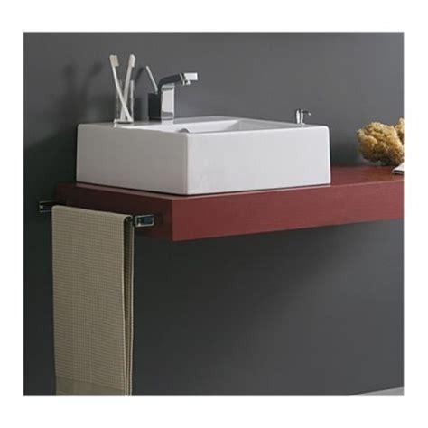mensole per lavabi da appoggio piano mensola per lavabo d appoggio in legno in vari colori mf