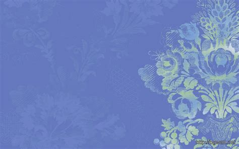 calming blue calming wallpaper in serene blue with stylized floral