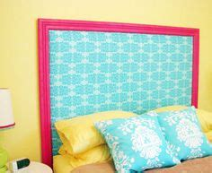 girls fabric headboard homemade headboard can you tell fabric covered squares
