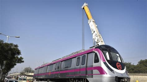 Metro Botanical Garden by Delhi Can Ride In Brand New Driverless Metro Trains From
