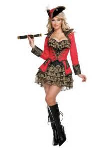 halloween pirate costumes elite red pirate costume