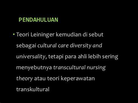 cultural care diversity and universality keperawatan transkultural 2
