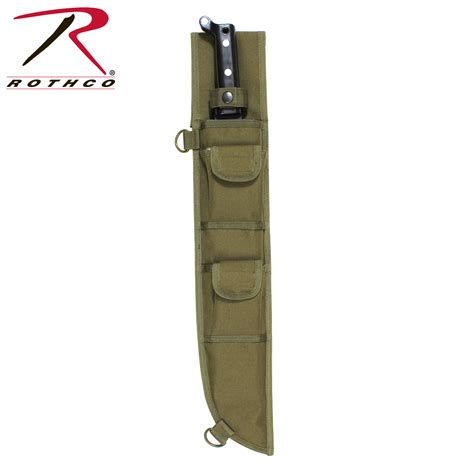 molle sheath rothco 18 inch molle compatible machete sheath