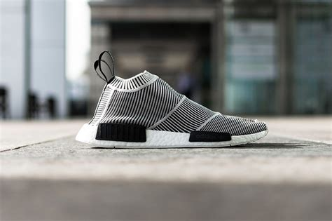 Adidas Nmd City Shock Putih adidas unveils nmd city sock in black and white tinman