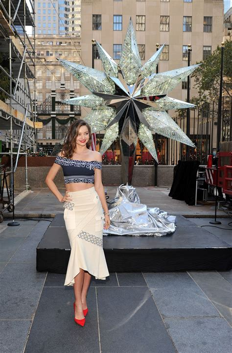 miranda kerr at swarovski star raising for 2015