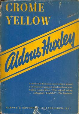 chrome yellow huxley crome yellow wikipedia