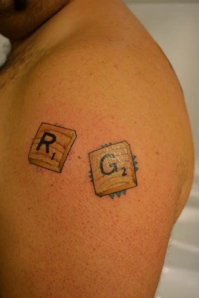 scrabble tattoo design 191 best images about tattoos on