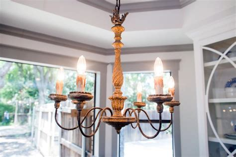 casual dining room lighting fixer upper a big fix for a house in the woods hgtv s